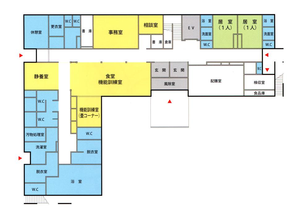 リブインハーモニーレジデンス1階